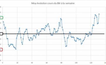 Point hebdomadaire marché des céréales 07 Juillet 2018
